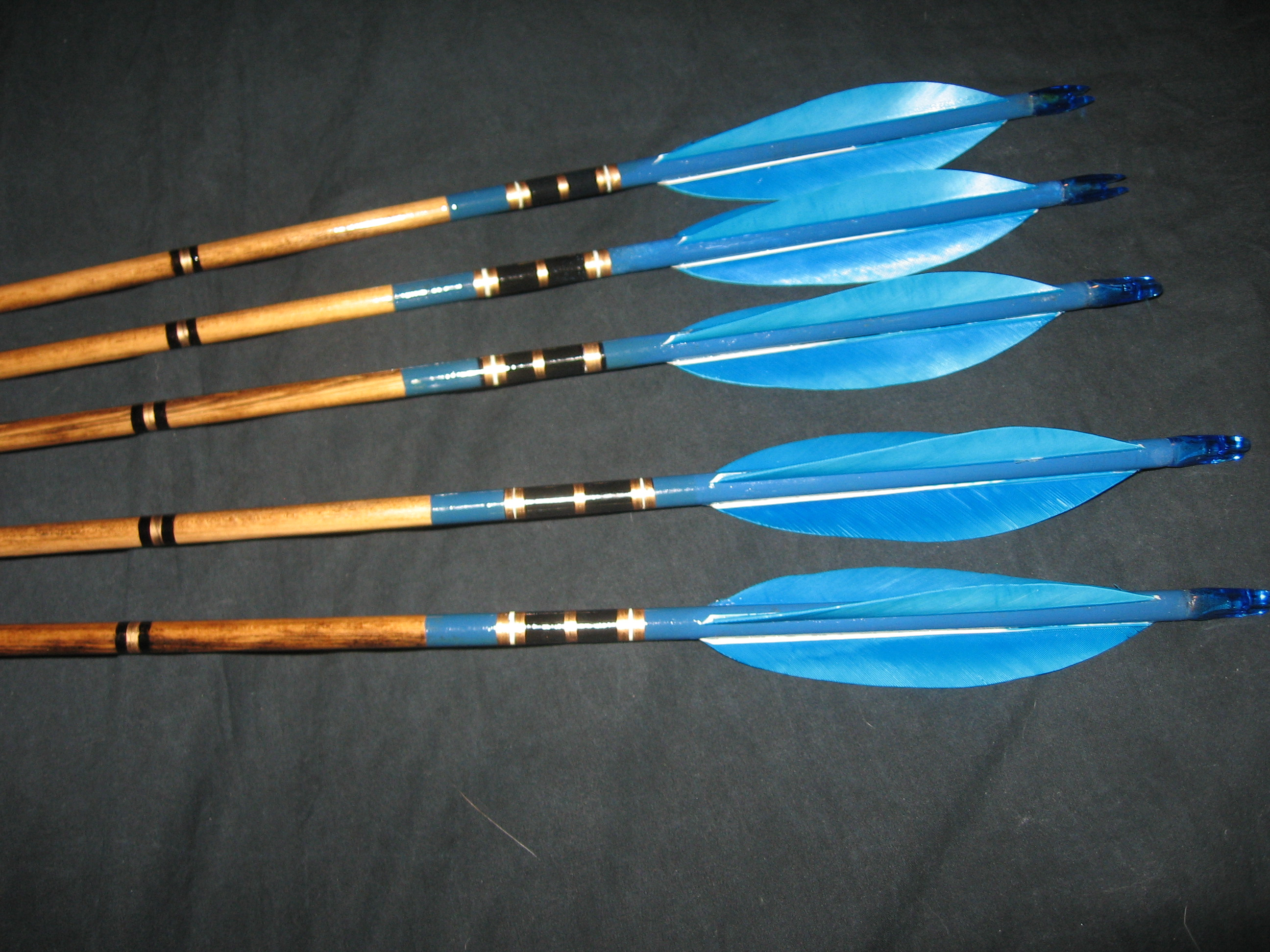 How to make cheap but effective wood arrows lifeandlongbows - How to make a homemade bow and arrow out of wood ...